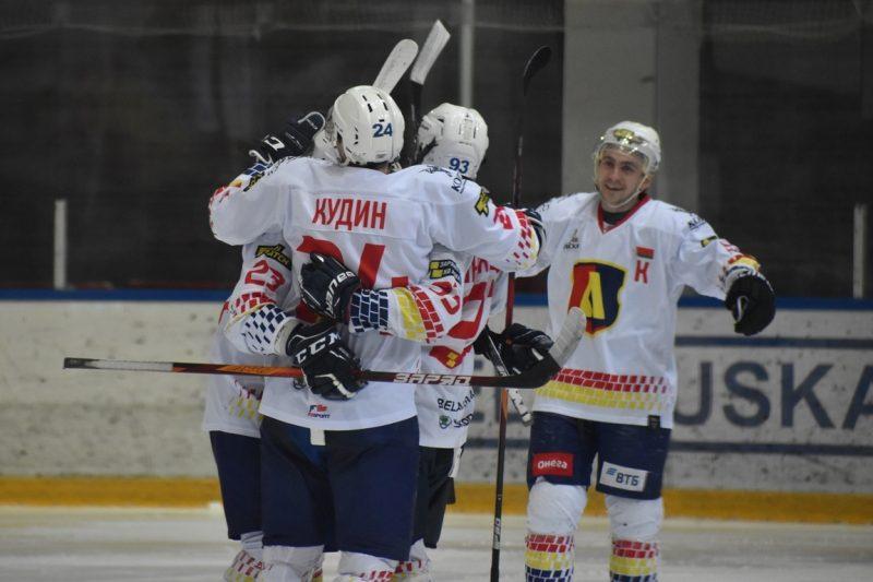 Хоккейный клуб «Лида» на выезде обыграл «Пинских Ястребов»