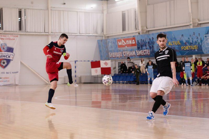 Мини-футбольный клуб «Лида» на выезде обыграл «Минск»