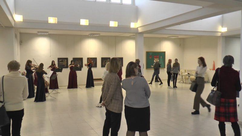 Выставка под названием «Международная лаборатория искусств» продолжает работать в нашем городе