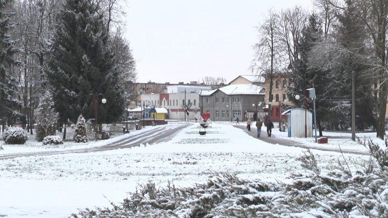 На Лидчине снова снегопады