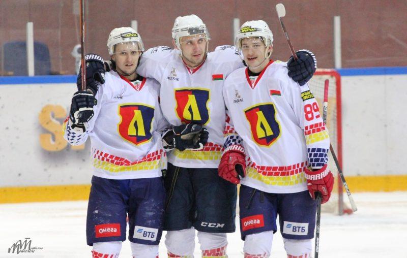 Хоккейный клуб «Лида» обыграл «Авиатор»
