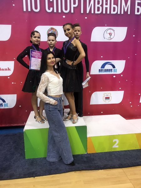 Лидчане успешно выступили на Чемпионате и Первенстве Республики Беларусь по спортивным бальным танцам