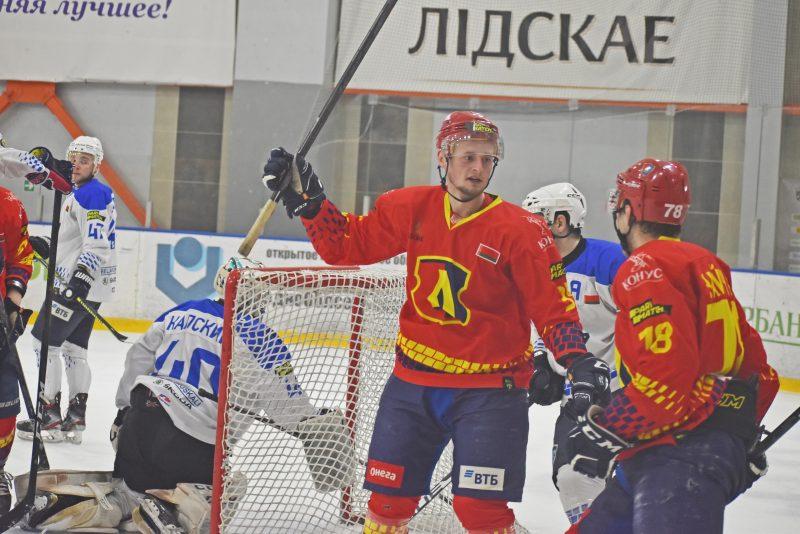 Хоккейный клуб «Лида» в упорной борьбе обыграл «Витебск»