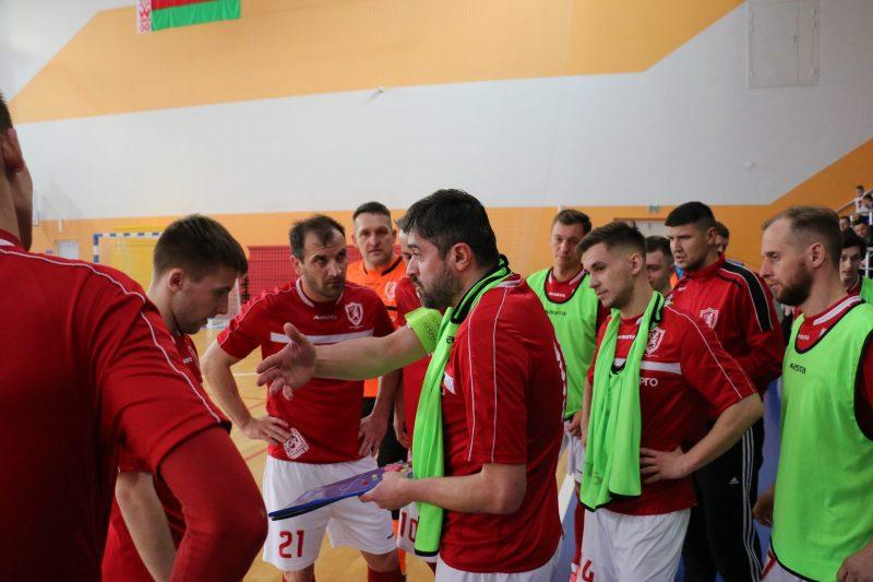 Мини-футбольный клуб «Лида» уступил «ЦКК» из Светлогорска