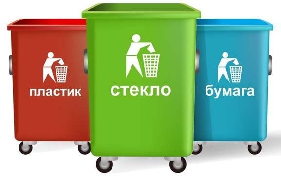 В Лиде совершенствуют раздельный сбор мусора