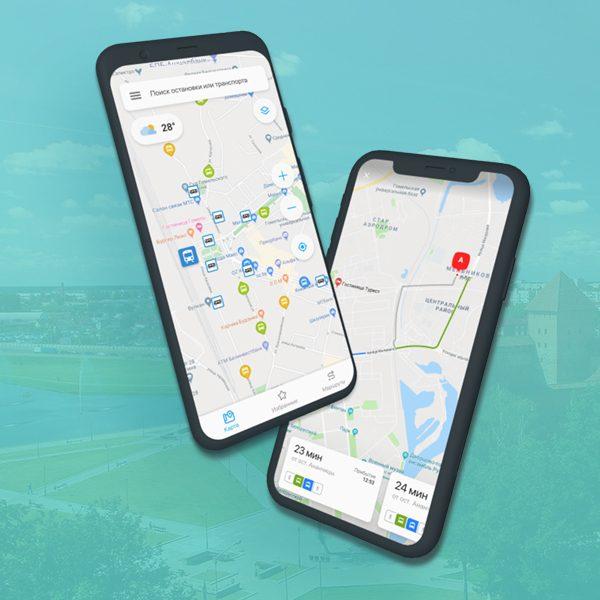 Общественный транспорт Лиды теперь онлайн – в бесплатном мобильном приложении «Транспорт.BY»