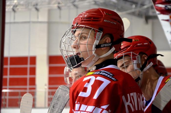 Юниорская сборная Беларуси в третьем матче на чемпионате мира добилась победы над Латвией
