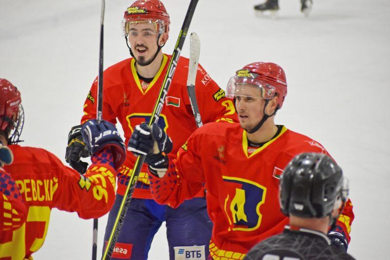 Хоккейный клуб «Лида» в рамках Игр развития обыграл «Пинских Ястребов»