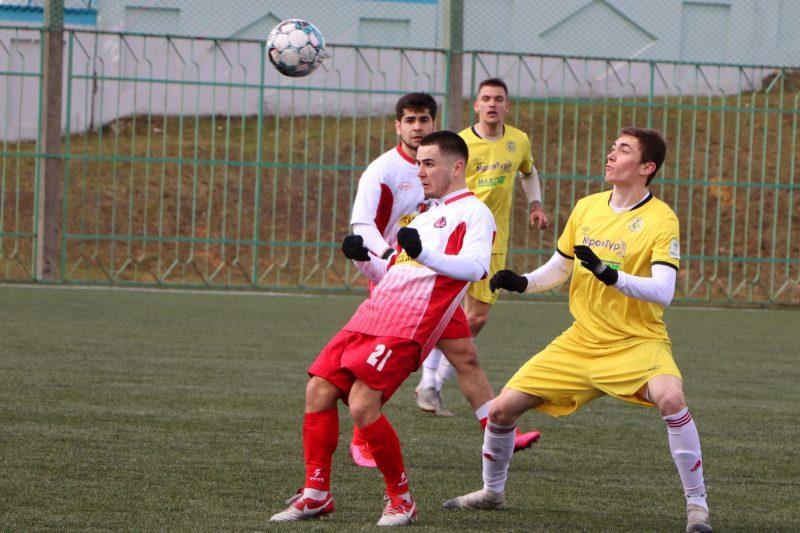 Футбольный клуб «Лида» провел очередной товарищеский матч