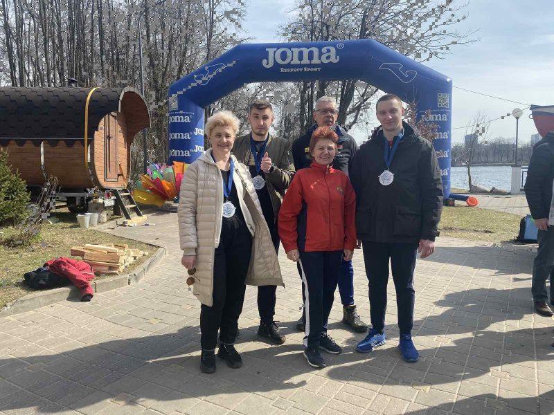 Лидчане успешно выступили на соревнованиях по плаванию на открытой воде «Весенние старты». Они прошли в Минске