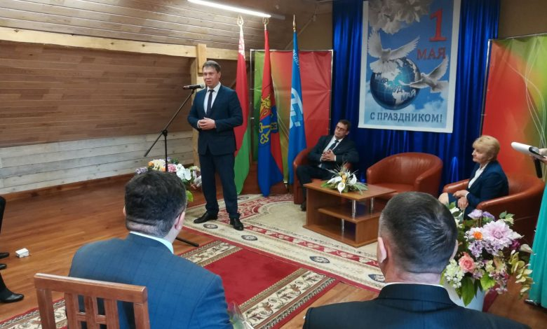 В Лидском замке состоялся торжественный прием председателя Лидского райисполкома по случаю 1 Мая