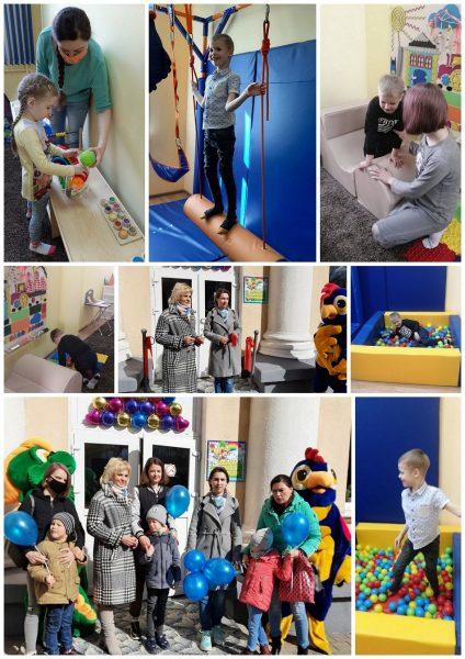 В Лиде состоялось открытие комнат сенсорной интеграции для ребят с ограниченными возможностями здоровья