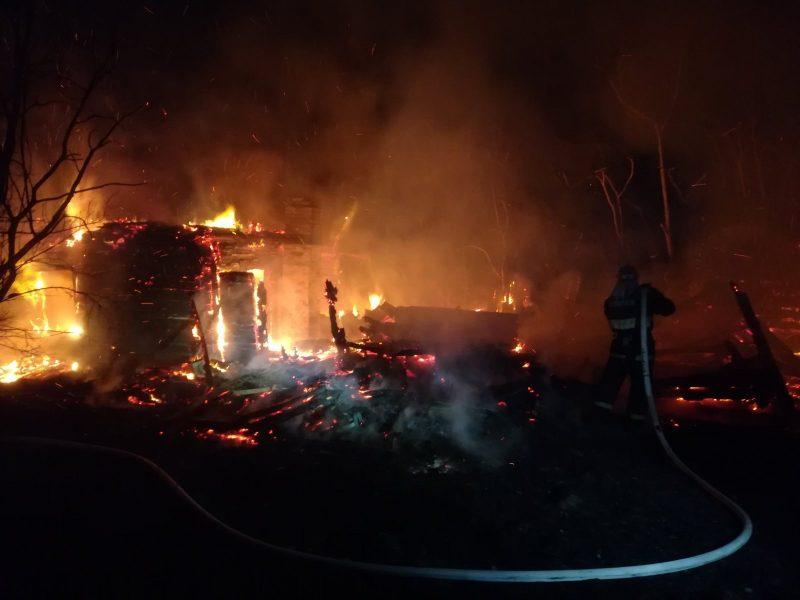 За минувшие сутки на территории Лидского района произошло два пожара