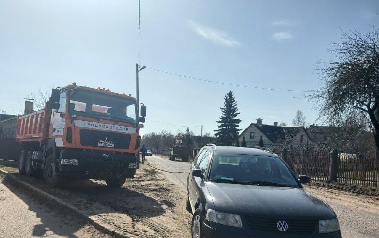 Улицу Малахова в Лиде дополнительно включили в дорожную карту городских улиц под сплошное асфальтирование
