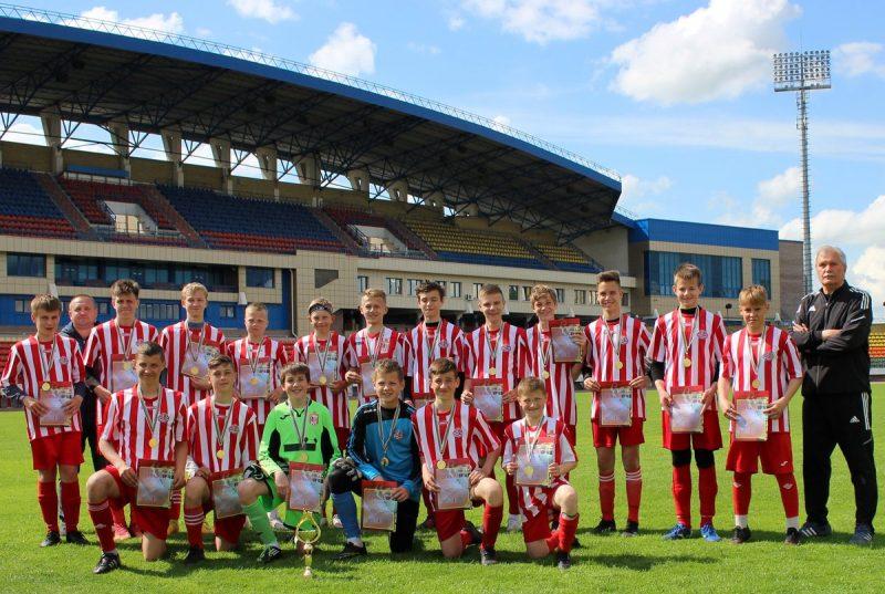 В Гродно прошли финальные матчи областной спартакиады школьников по футболу.