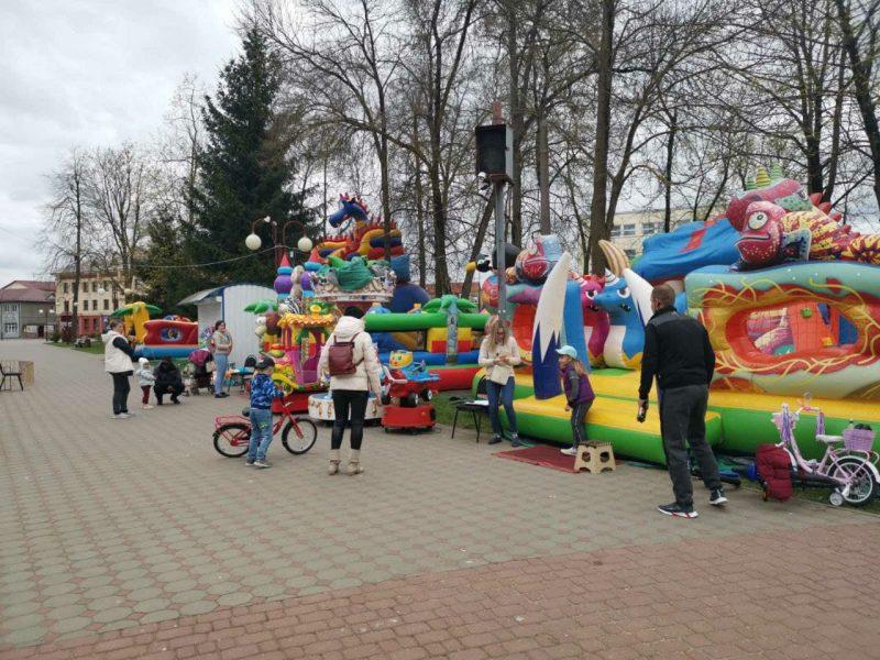 В Лиде 1 мая открылся сезон в городском парке культуры и отдыха
