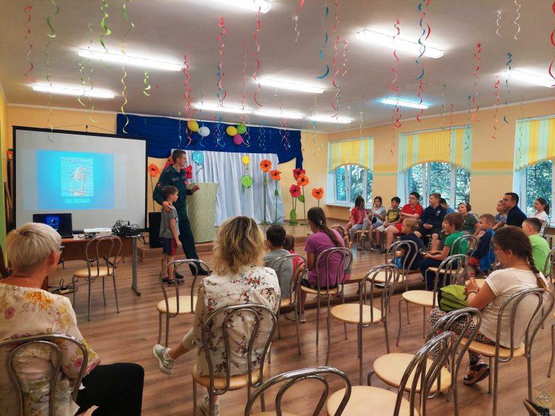 В Лидском районе проходят мероприятия в рамках акции «Каникулы без дыма и огня»