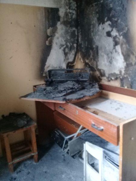 В Лиде в подъезде одного из домов по улице Тухачевского произошел пожар