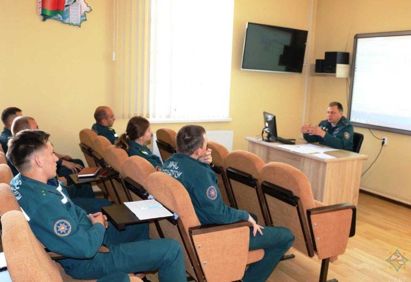 В Лиде прошел семинар диспетчеров службы 101
