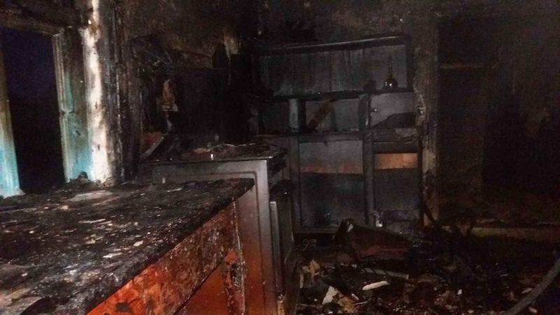 Нежилой дом горел в Лидском районе