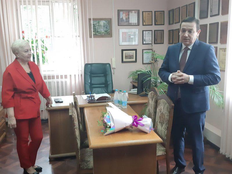 Министр информации Беларуси Владимир Перцов посетил Лидское телерадиообъединение.