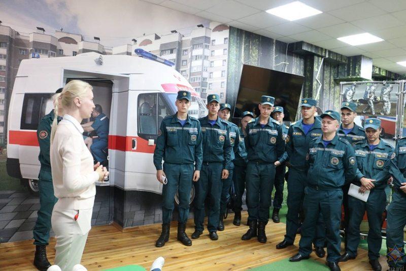 В Лиде прошел семинар диспетчеров областного управления МЧС