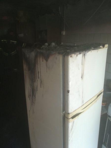 В Лиде сегодня утром произошел пожар в общежитии ЖКХ
