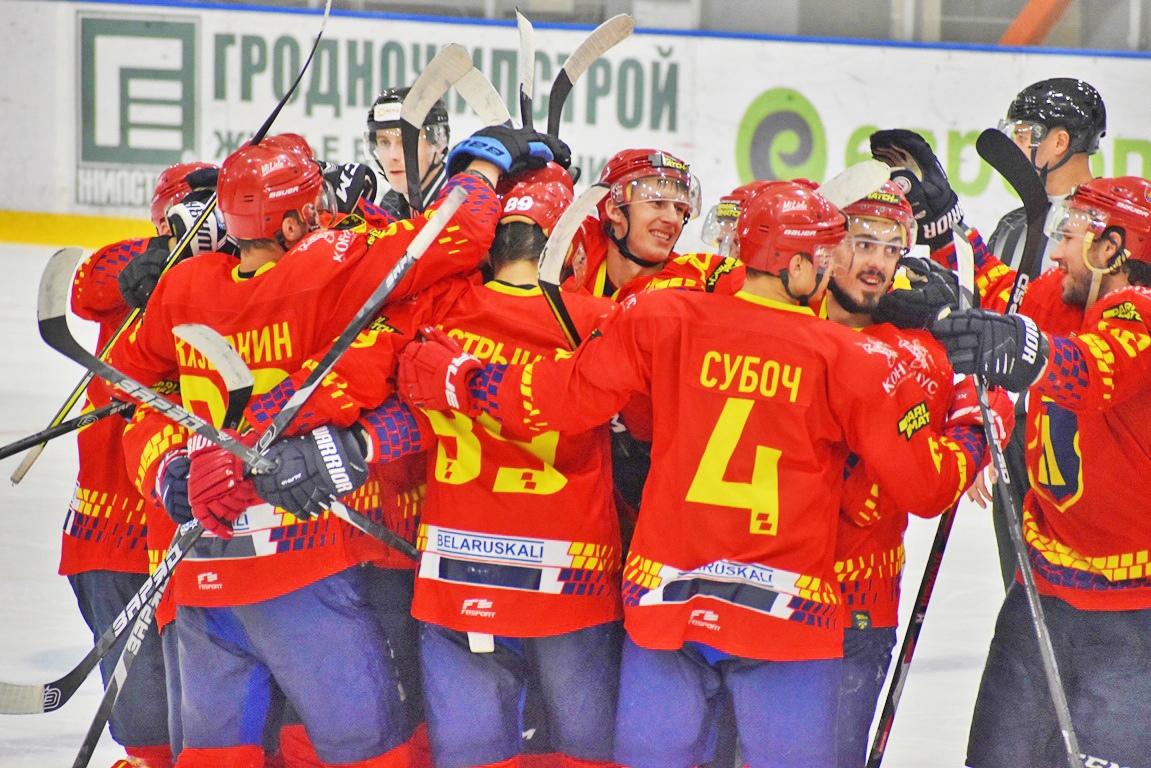 Определен состав хоккейного клуба «Лида» для участия в экстралиге чемпионата Беларуси