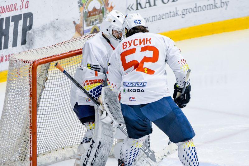 Хоккейный клуб «Лида» в товарищеском матче уступил «Неману»