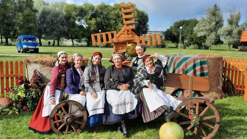 Лидчане приняли участие в областном фестивале регионального фольклора