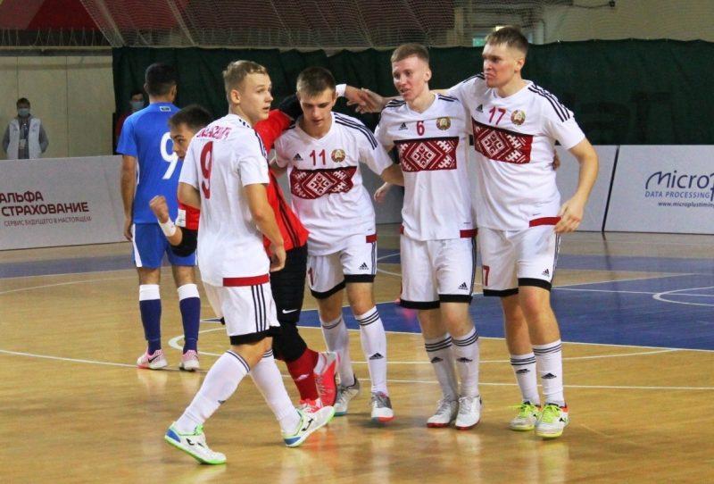 Дмитрий Кузьма в составе юношеской сборной выиграл «серебро» первых Игр стран СНГ
