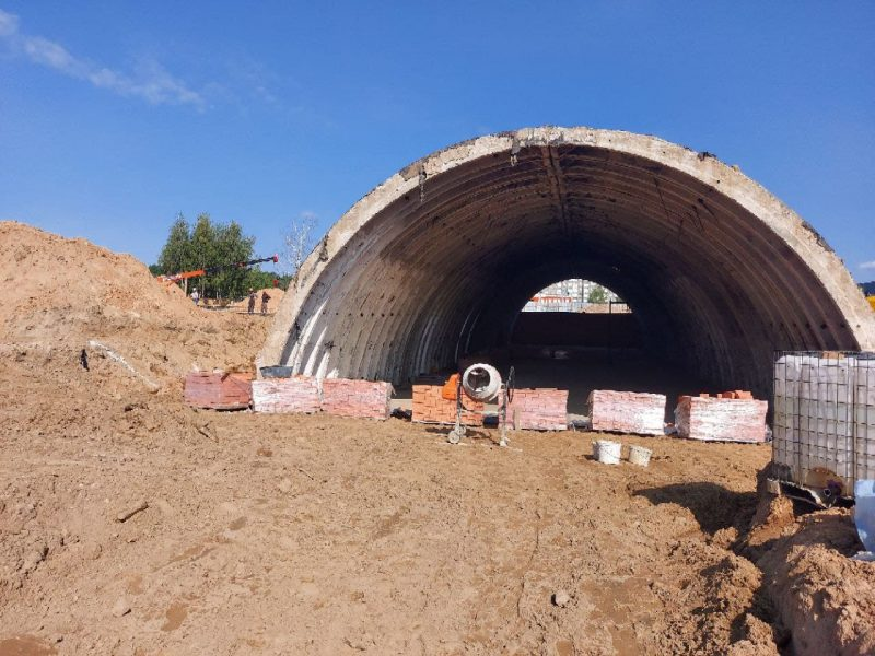 Предприятие «Керамин-столица Инвест» продолжает строительство в Лиде масштабного объекта