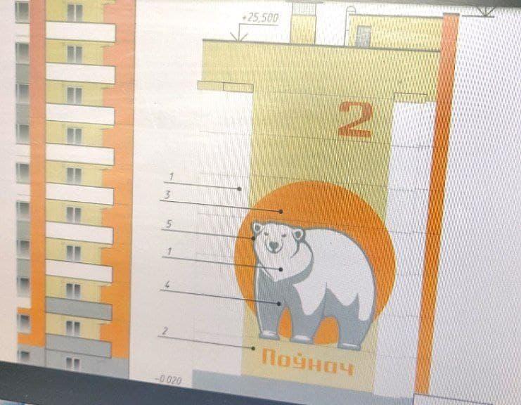 Нумерация жилых домов в строящемся микрорайоне Север в Лиде станет элементом оформления фасадов