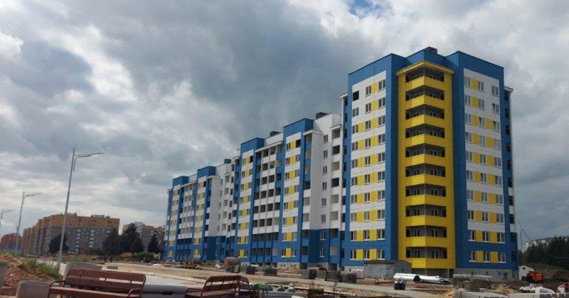 В эксплуатацию в этом месяце будет сдана многоэтажка по ул. Кооперативной в Лиде.