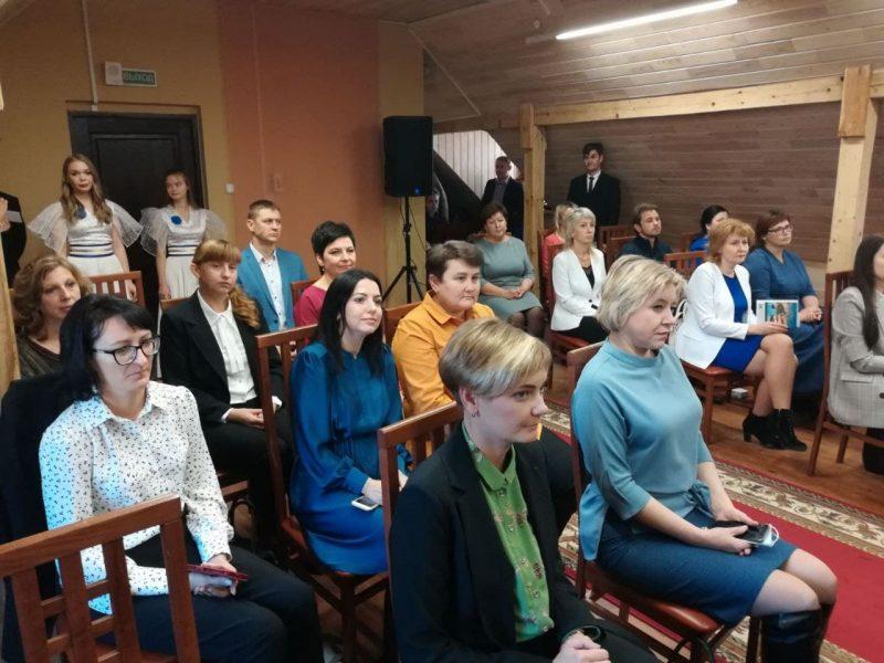 В Лидском замке сегодня чествовали педагогов.