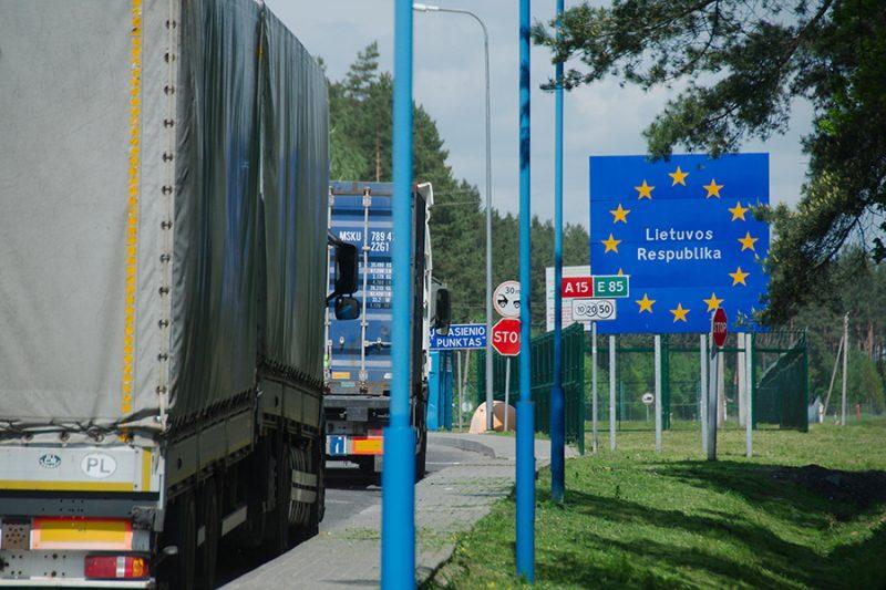 В пункте пропуска «Бенякони» пресечена попытка ввоза в ЕАЭС пищевых продуктов по поддельному сертификату