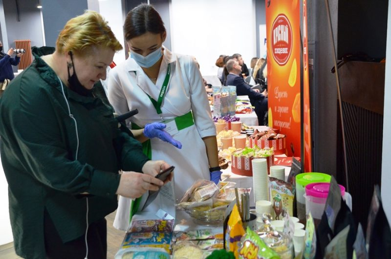 «Лидские пищевые концентраты» представили продукцию на форуме Food Prom в Минске